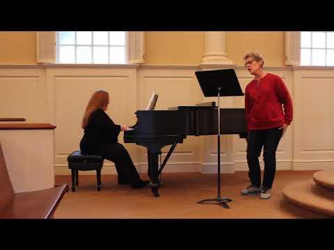 Quando m'en vo' from Boheme by Puccini: Jeanine Wagner, soprano; Brenda Fernandez, piano