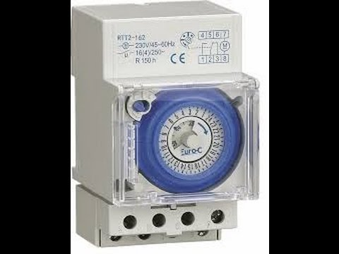 TAMIL 24 hrs timer switch connection diagram new