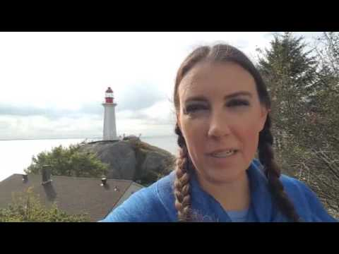 Vlogtober Day 4 - Hiking Lighthouse Park, West Vancouver, BC, Canada