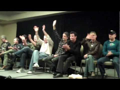 Fright Night  Panel Discussion With Actors And Crew Memebers At Monsterpalooza 2012!