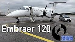 Budapest Aircraft Service Embraer 120 Brasilia Helsinki - Pori - Helsinki [PSO]
