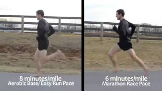 Техника естественного бега от Newton Running.