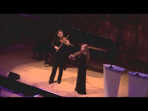 Barnabás Kelemen and Katalin Kokas play Bartók at the 2013 Gramophone Awards