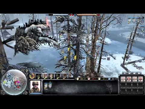 Company Of Heroes 2: The British Forces Gameplay - Super quiet mode
