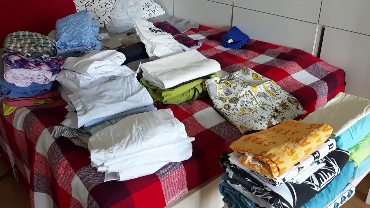 Уборка #498 разбор комода в маленькой комнате)