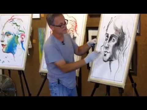 Pushing Charcoal | David Limrite | Art Workshops | MM Figure Drawing & Painting  | Artist Mentor