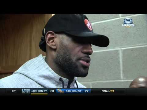 LeBron roots against Ohio State Buckeyes in NIT first round game