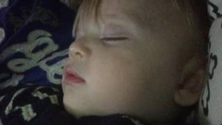My 1 year old snores louder than me