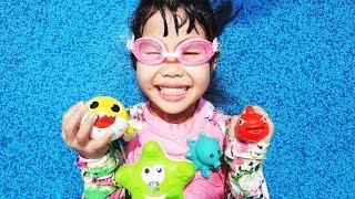 유니 할아버지와 인기 동요 finger family song 영어배우기 Nursery rhymes for kids song - Romiyu Vlog