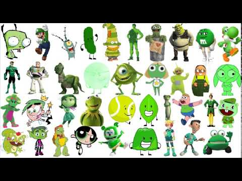 Which One Of These Green Characters Are Better Updated