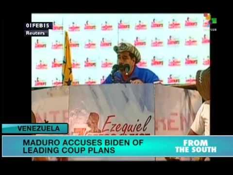 Maduro accuses Biden of plotting against Venezuela