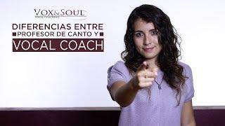 DIFERENCIAS ENTRE PROFESOR DE CANTO Y VOCAL COACH | Vocal Coaching | Vox&Soul