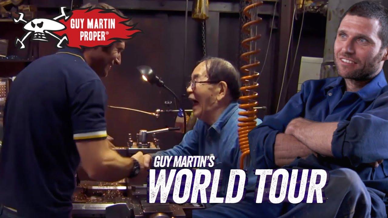Guy's Idol - A Japanese Engineering Master | Guy Martin Proper