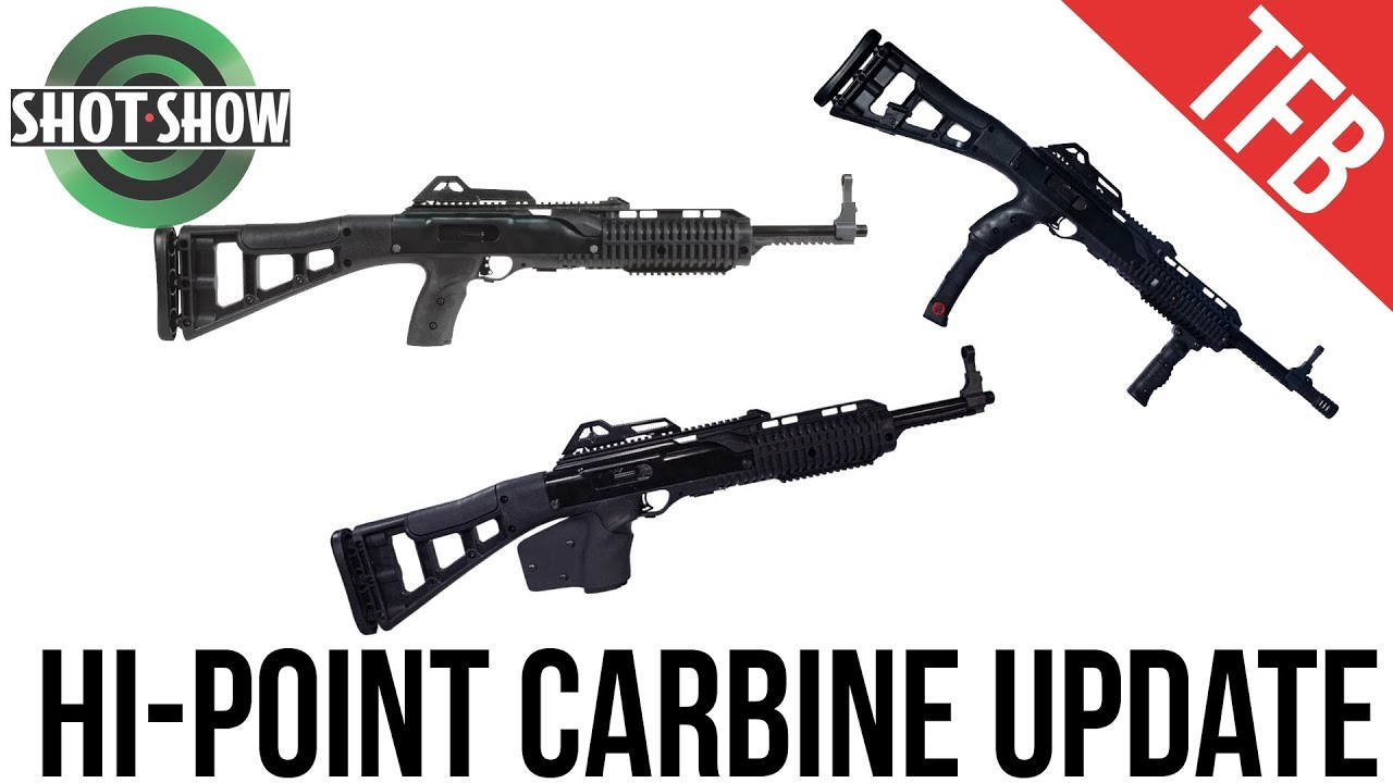 [SHOT Show 2019] New Hi-Point 9mm Carbines!