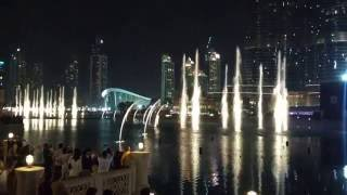 Dubai Fountains Full HD