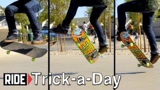 How To Skateboarding: Frontside Heelflip with Jamie Tancowny