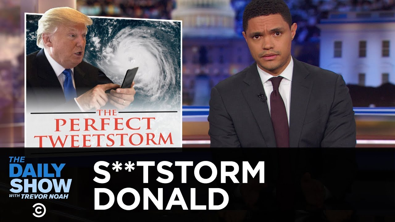 S**tstorm Donald Rages on Twitter While Hurricane Florence Hits the Carolinas | The Daily Show