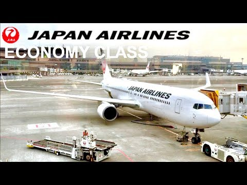 Japan Airlines Economy Class Tokyo to Jakarta Boeing 767-300ER 日本航空 エコノミークラス 東京成田 - ジャカルタ