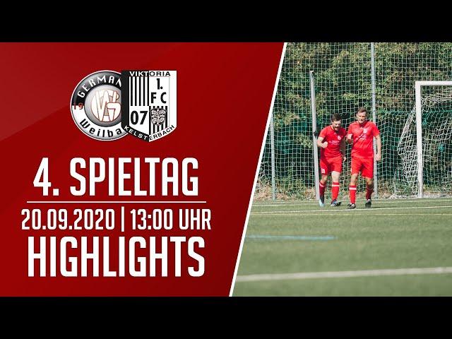 Germ. Weilbach II - Viktoria Kelsterbach   Highlights   20.09.2020