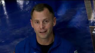 Expedition 57 Nick Hague Interviews - September 18, 2018