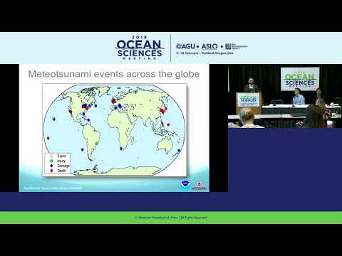 OSM18 Press Conference: Meteotsunamis: An overlooked hazard for the Great Lakes and beyond