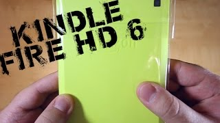 Kindle Fire HD 6 UNBOXING