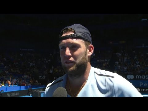 Jack Sock on-court interview (RR) | Mastercard Hopman Cup 2018