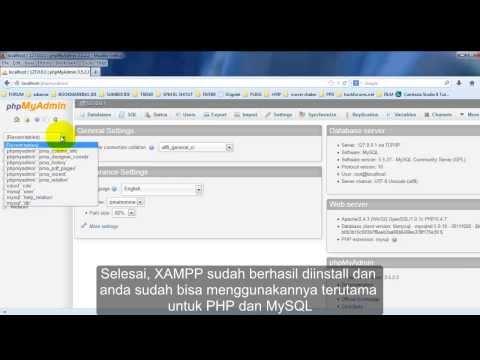 Cara Install Phpmyadmin Xampp
