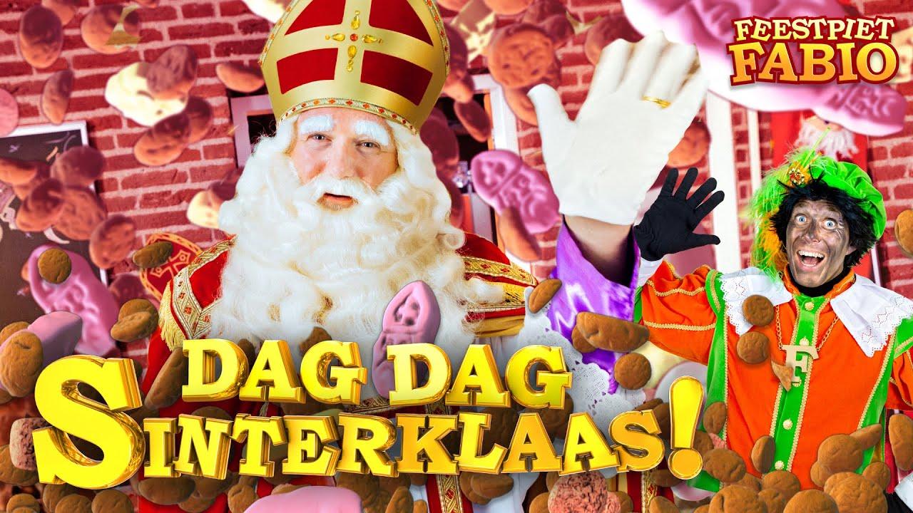Feestpiet Fabio Dag Dag Sinterklaas De Luizenmoeder Hallo Allemaal Uitzwaailied