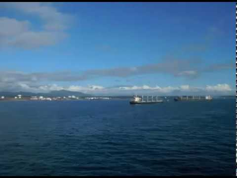 Chile Port, South America