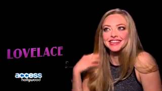 Amanda Seyfried Talks Shooting Her Lovelace Sex Scenes; Wanting Her Dad To See The Movie