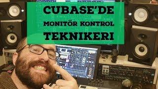 CUBASE 'DE ÇOKLU REFERANS MONİTÖR KONTROL SEÇENEĞİ ( Control Room Ayarları )