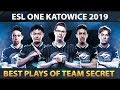Team Secret, Champions of ESL One Katowice 2019 - Best Plays, Best Moments