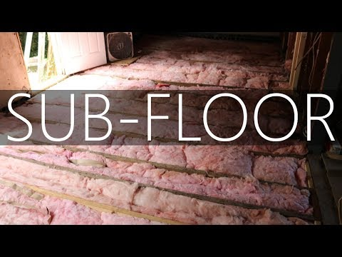 $12,000 CASH HOUSE! - Insulation & Sub-floor - #13