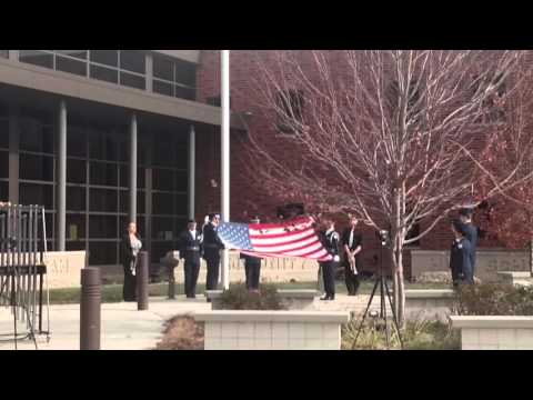 Mascoutah High School AFJROTC Flag Ceremony