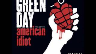 Green Day- Give Me Novacaine (Lyrics)