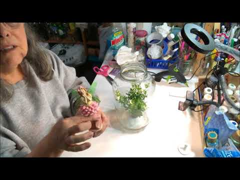 DIY 3D Gorgeous Fairy Jar