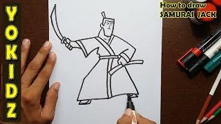 How to draw SAMURAI JACK