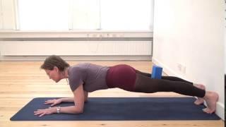 Iyengar Yoga-øvelse 2: Delfinplanken - FOF Aarhus