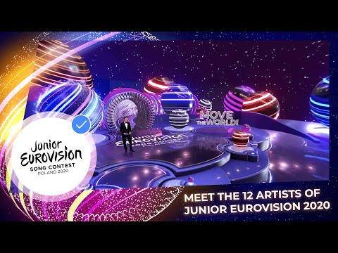 Here are the participants of Junior Eurovision 2020