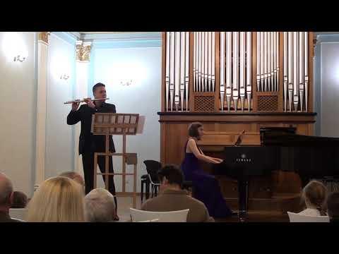 В. А. Моцарт Соната A-dur  К.526, 1 часть (перелож. для флейты и фортепиано)/W.A.Mozart Sonata A-dur