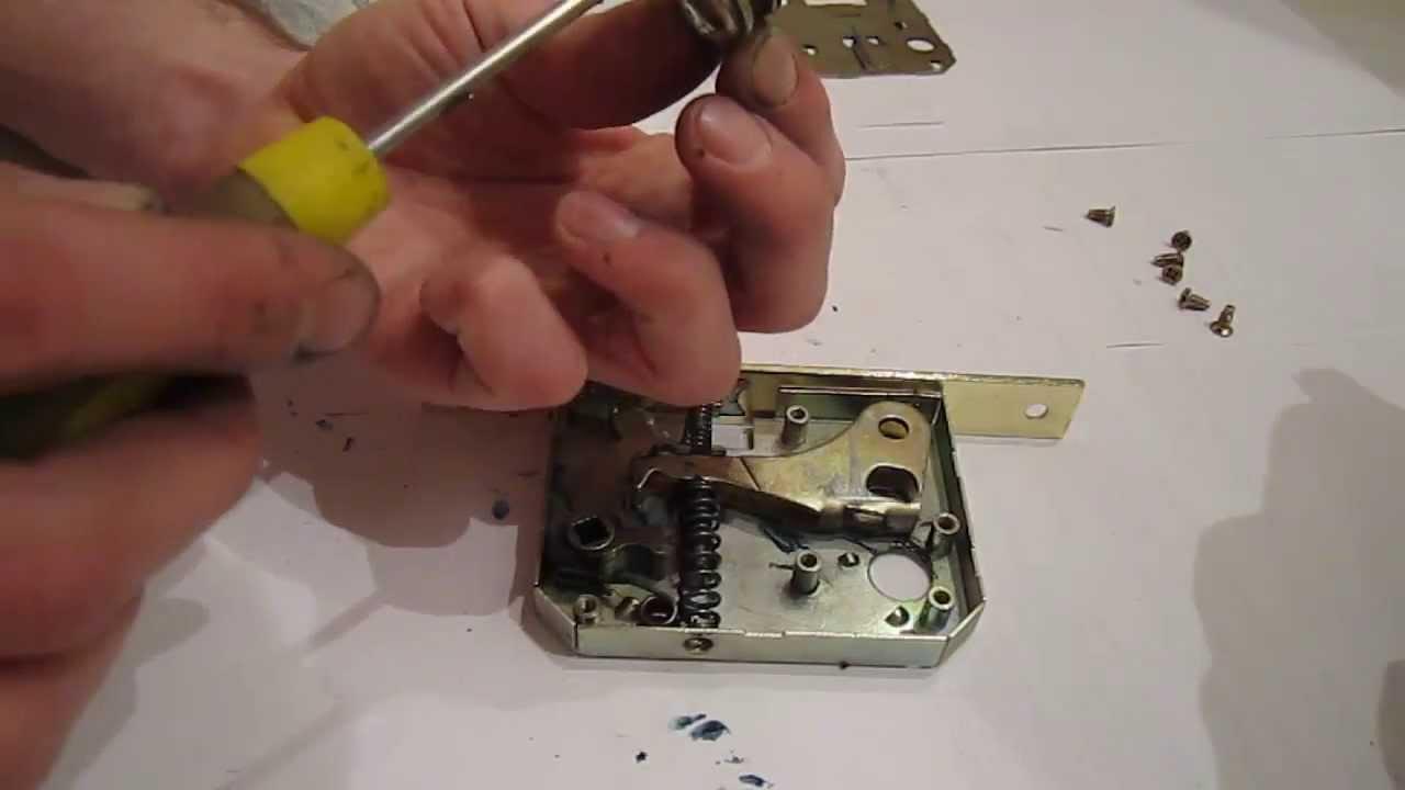 схема магнитного замка sillur в разборе