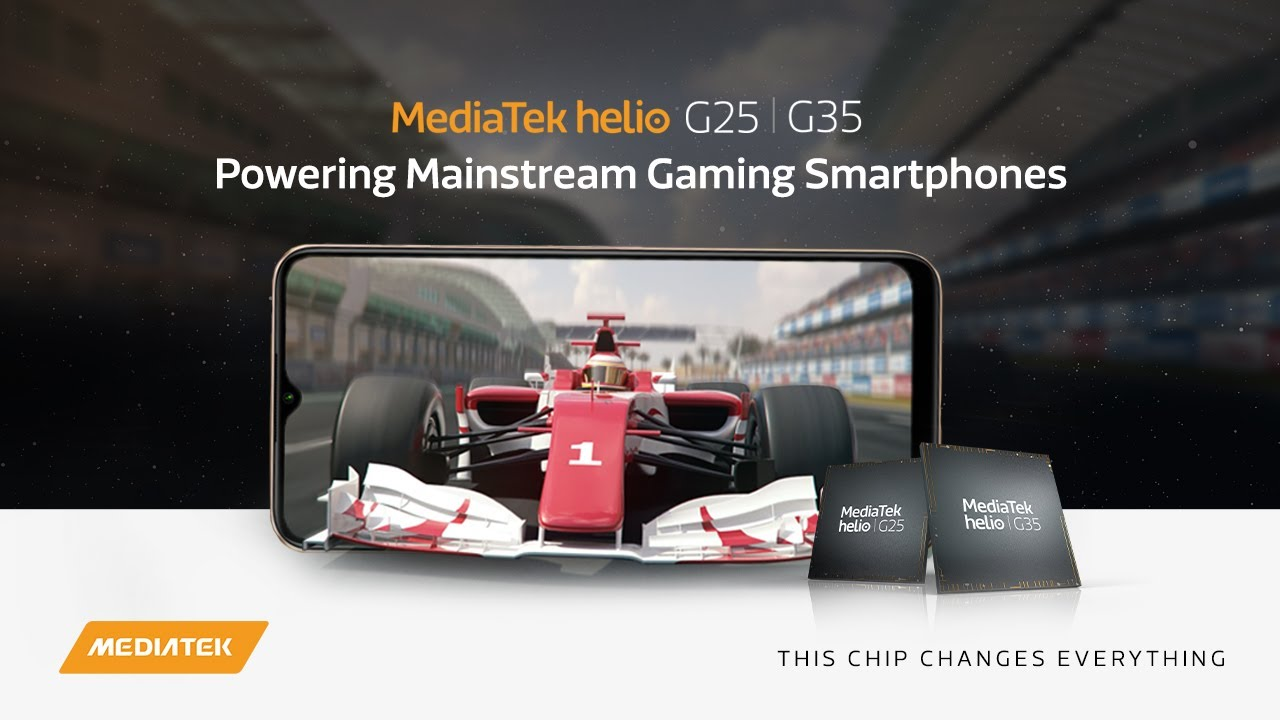 MediaTek Helio G25 | G35: Powering Mainstream Gaming Smartphones - YouTube