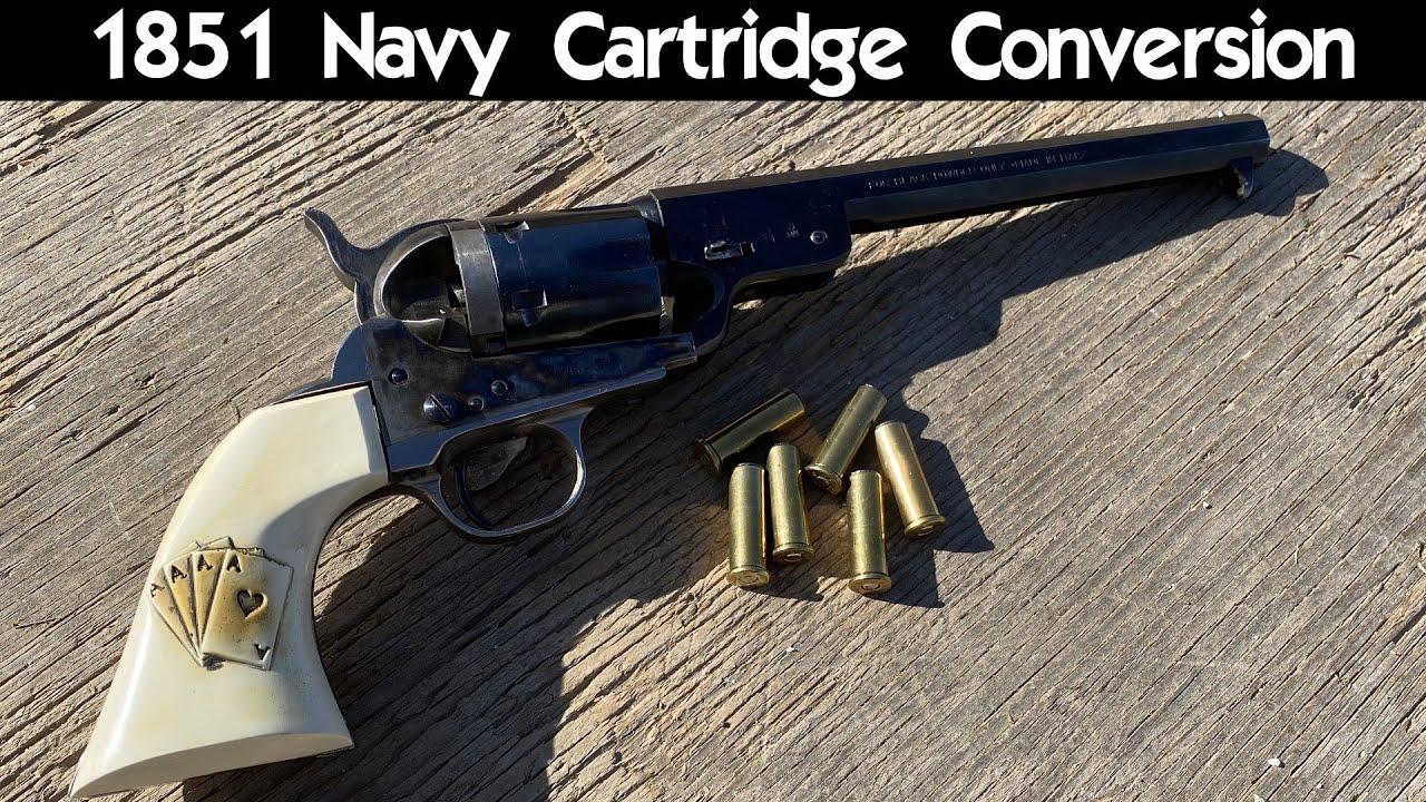 1851 Navy Cartridge Conversion