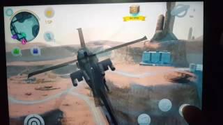 Bagaimana cara mencuri helikopter militer di Gangstar Vegas