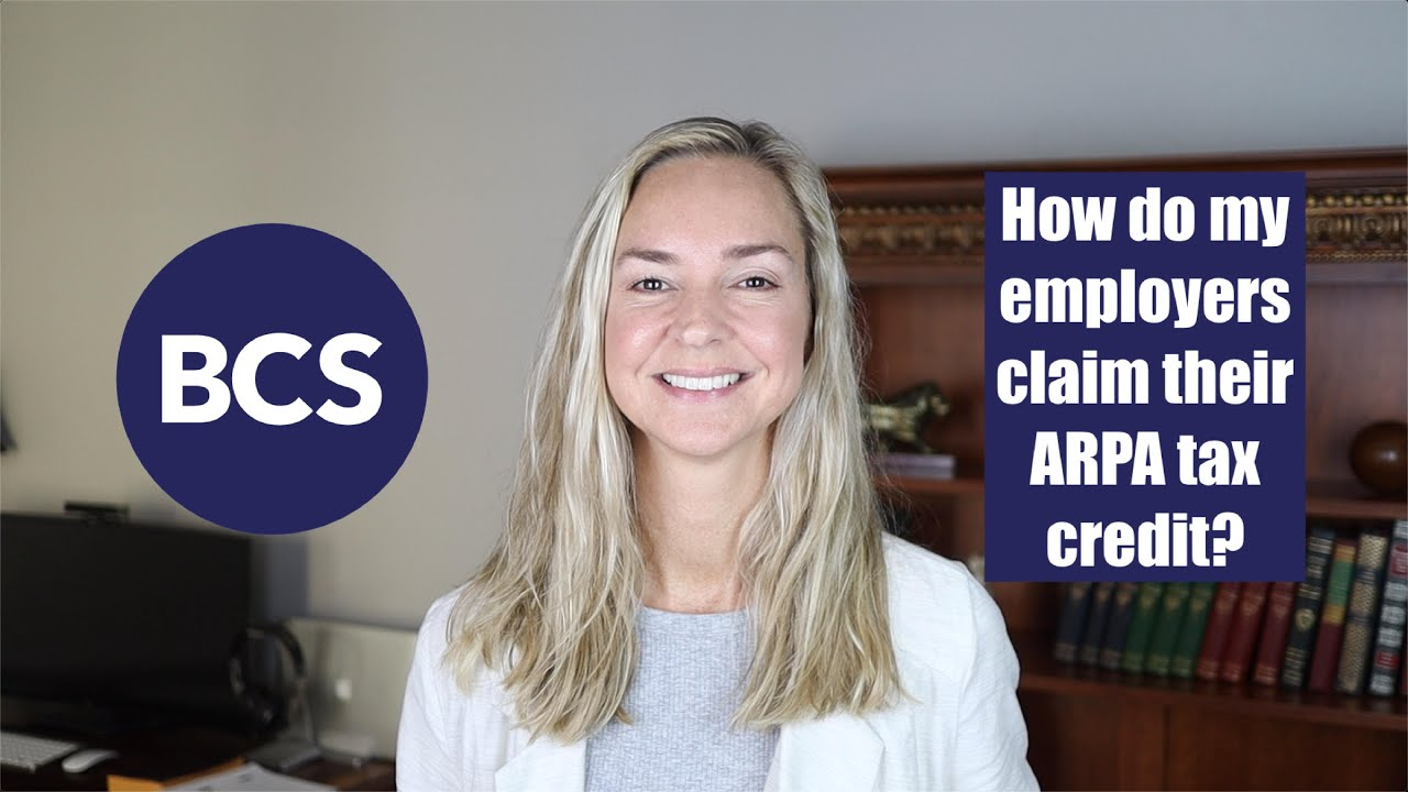 How do employers get their ARPA tax credit?
