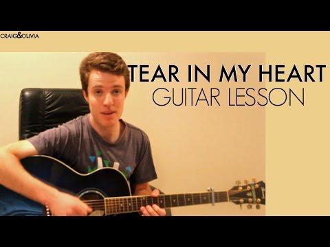 Tear In My Heart - Twenty One Pilots | Guitar Lesson & Chords