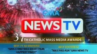 BP: Ilang programa ng GMA at GMA News TV, kinilala sa CMMA