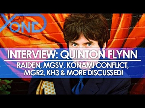 The Codec - Quinton Flynn Interview: Raiden, MGSV, Konami Conflict, MGR2, KH3, & More Discussed!