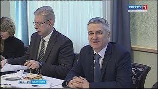 Встреча Артура Парфенчикова с руководителями карельских СМИ